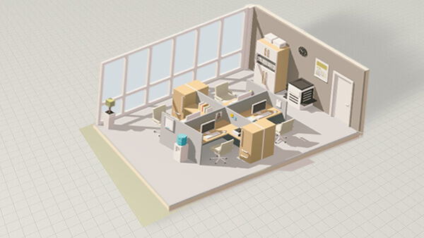 20 x 20 Office Space